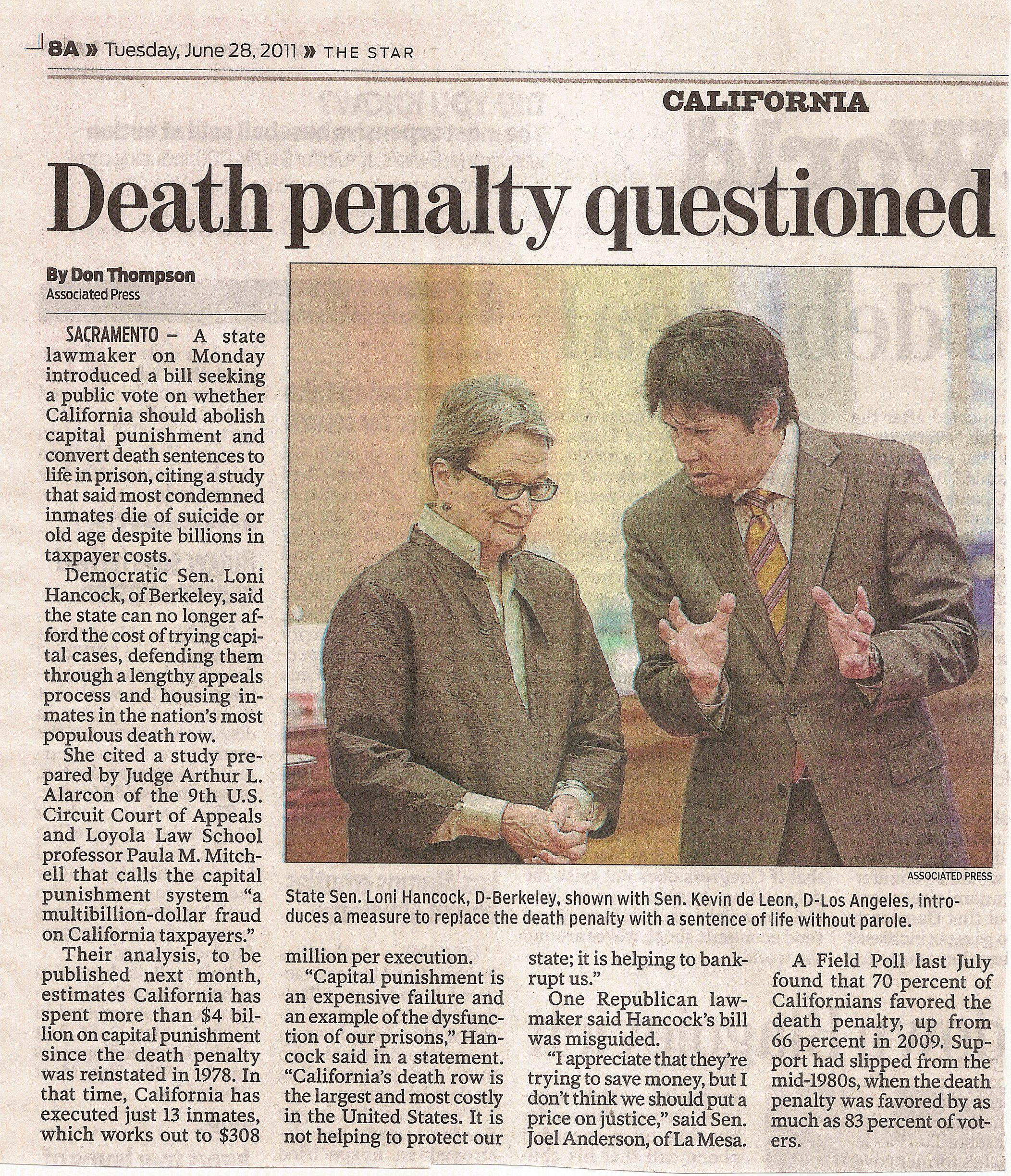 minors death penalty essay